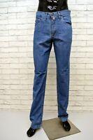 BARBOUR Jeans Uomo Denim Taglia 31 Pants Men Pantalone Gamba Dritta Chino