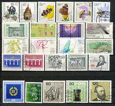 Bundespost jaargang 1984 gebruikt (6)