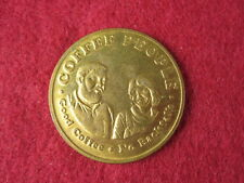 Vintage Coffee People Gold Coin Token Portland, OR RaRe Advertising NW 23rd Ave.
