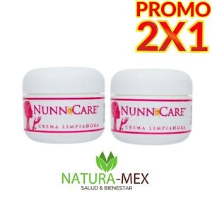 2 X 1‼️NUNN CARE CREMAS LIMPIADORA ORIGINAL VERSION MEXICANA/ ACNE SCAR REMOVAL