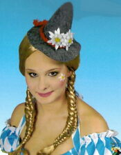 Oktoberfest Hut Damen-Hütchen Edelweiss Mini Hut