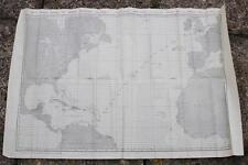 ELDERS & FYFFES LINE SS MOTAGUA SS CORONADO 1925 NORTH ATLANTIC CHART X 5 ITEMS