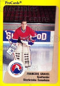 1989-90 ProCards AHL #184 Francois Gravel