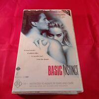 VHS Tape Basic Instinct Clamshell R