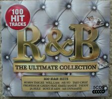 Various Artists - The Ultimate R & B Collection - 5 x CD - 100 Tracks Ex-