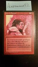 1 x Blood Lust - Italian Legends - LP - Magic The Gathering - MTG