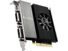 EVGA GeForce GT 710 DirectX 12 02G-P3-2717-KR 2GB 64-Bit DDR3 PCI Express 2.0 Vi