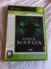 Enter The Matrix- 2003 written/directed by the Wachowskis (Microsoft Xbox - PAL)