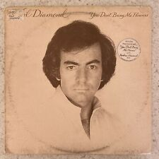 Neil Diamond, You Don't Bring Me Flowers - Rock Vinyl LP Record 1978 (CBS 86077)