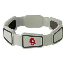 "Phiten Titanium Bracelet Renegade Gray Large 6 3/4""  New"
