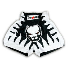 Pitbull Dog Kick Boxing Muay Thai Shorts Mma Men Grappling Satin Pants Wear Gym