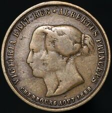 1858 | Victoria & Albert 'Royal Visit Of Cherbourg' Medal | Medals | KM Coins