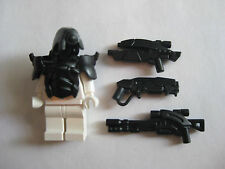 Custom ANDROID Armor & Weapon Pack for Lego Minifigures Mass Effect Legion BLACK