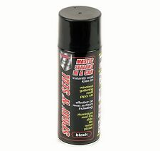 2 x 400ml Spray N Seal Mastic Leak Stop Roof Gutters Pipes Frames Sealant BLACK