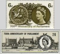 EBS Great Britain 1965 - Simon de Montfort's Parliament - SG 663p-664 MNH**