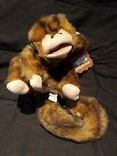 Monkey Hand Puppet With Story Folkmans Puppets���?Nwt