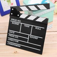 Director Video Scene Clapperboard TV Movie Clapper Board Film Slate Cut Prop NL
