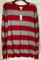 Sonoma Life + Style Long Sleeve Men's sweater size XXL. 100% Cotton