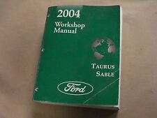 2004 Ford Taurus Mercury Sable Workshop Service Manual Factory Book