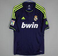 REAL MADRID 2012-2013 AWAY FOOTBALL SOCCER SHIRT JERSEY CAMISETA MAGLIA SIZE S