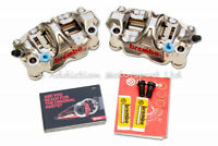 Brembo GP4RX Front Brake Calipers 108mm with Pad for Kawasaki, Suzuki  220B01010