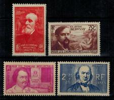 timbres France n° 436/439 neufs* année 1939
