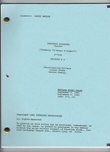"NORTHERN EXPOSURE show script ""Roots"""