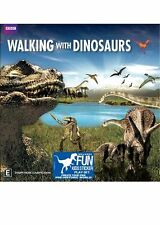Walking with Dinosaurs Series DVD NEW BBC (BONUS Sticker Play Set!)