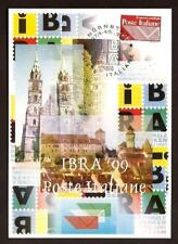 Italy 1999: Nuremberg (Germany) IBRA'99-Official Postcard Post it.