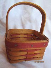 Vintage 1993 Longaberger Sweet Sensations Basket