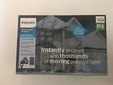 Philips Motion Laser Projector Dot Pattern w/ Remote - NEW! Christmas Decoration