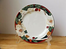 Tienshan Fine China Magnolia Dinner Plate 10 1/2 Inch Across