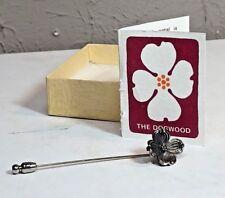 James Avery Sterling Silver Dogwood Lapel Stick Pin