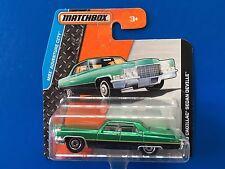 2015 Matchbox 1969 CADILLAC DE VILLE LUXURY SEDAN - mint on short card!