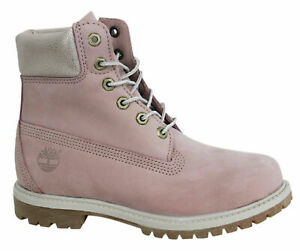 Timberland AF Earthkeepers 6 Inch Premium Lace Up Pink Womens Boots A196B B81C