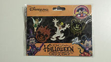 Disney Disneyland Paris Halloween Booster set 4 broches DLRP Pin Trading Goofy NEUF