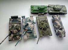Toy model Russian tanks 1/72 6 pieces