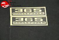 1962-65 Chevrolet CorvetteDecal Valve Cover 300 Horsepower Peel /& Stick Foil