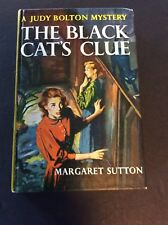 JUDY BOLTON #23: THE BLACK CAT'S CLUE by Margaret Sutton 1964 Printing