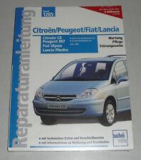 Reparaturanleitung Citroën C8 / Peugeot 807 / Fiat Ulysse / Lancia Phedra ab ´02