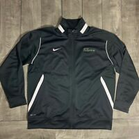 Miami Dolphins NFL Nike Therma Fit Player Issued Full Zip Spell Out Jacket XL