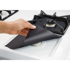 4pcs Glass Fiber Gas Stove Protectors Reusable Gas Stove Burner Cover Liner Mat