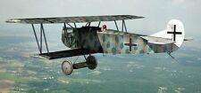 CAD  Bauplan Doppeldecker Fokker DVII 240cm Spannweite
