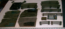 Lot of Pre-War O-40/O Tracks: 4 X Switches 90 Crossing, UnCoupler Lionel & AF