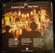 Les Pensees des Jeunes (Young Dreams) Double LP (Radio Canada International-1980