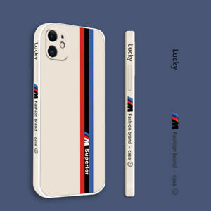 For iPhone 13 12 Pro Max 11 XR XS 8 Shockproof Track Pattern Silicone Case Cover