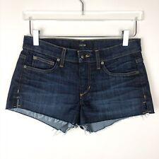 Joe's Jeans Women's Marisela Blue Denim Cut Off Jean Shorts Sz 26 MSRP $79