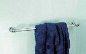 Vola T19 Brushed Chrome Towel Rail. 600mm