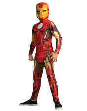 "Iron Man Costume, Kids Avengers Outfit, Medium, Age 5 - 7, HEIGHT 4' 2"" - 4' 6"""