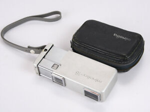 MINOLTA 16-II, SILVER, WITH CASE AND BOTH CLOSE-UP FILTERS/216062